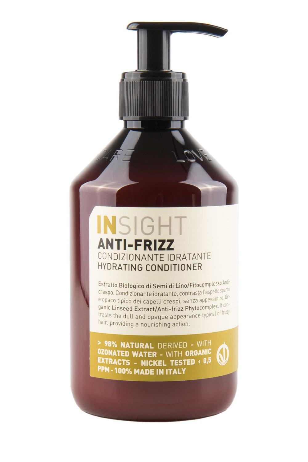 Insıght Anti-Frizz Hydrating Nemlendirici Bakım Kremi 400 ml